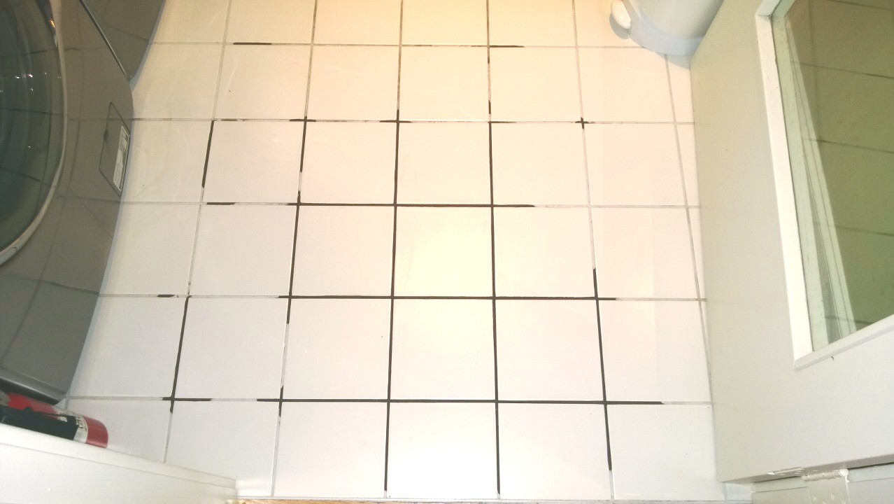 Regrouting bathroom tile orbited by nine dark moons repairing the grout in the laundry room 6g dailygadgetfo Choice Image