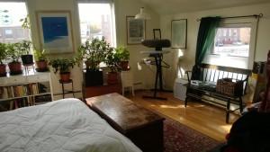 hardwood floors in master bedroom green curtains