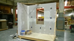 whittier tech learning to drywall
