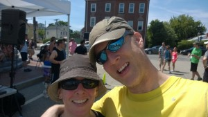 me and jim after completing the nate bibaud 5k in newburyport
