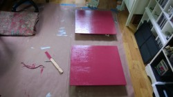 painting the living room cupboard benjamin moore night flower raspberry