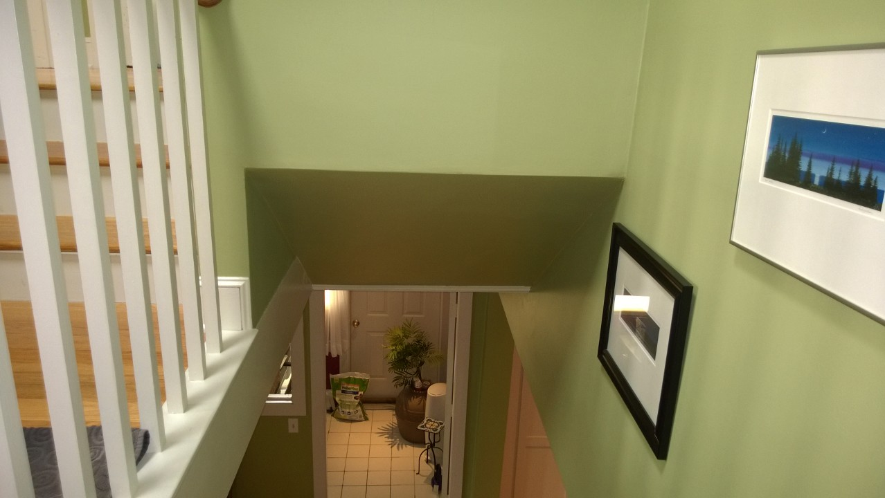 Stairwell Ceiling
