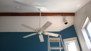 removing the master bedroom ceiling fan