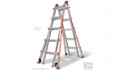 little giant alta one model 22 ladder stock photo