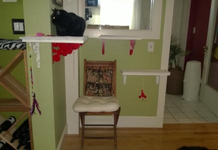 Downstairs Cat Platforms – Part 2