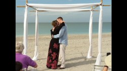 december 2013 beach wedding / vow renewal sanibel captiva FL