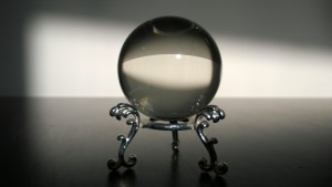 my small crystal ball and stand from laurie cabot's witch shop in salem ma