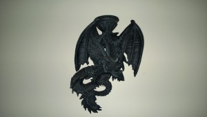 dragon candleholder wall sconce