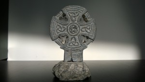 stone celtic cross brought to the US by my great-grandmother in 1901