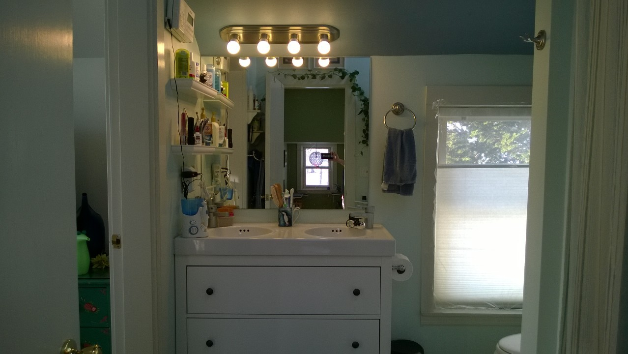 Replacing the Master Bath Light Bar
