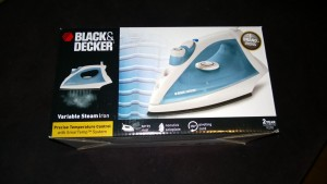 black and decker variable steam iron