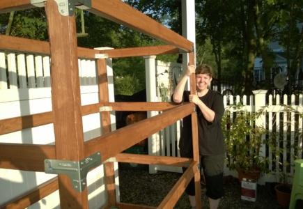 Backyard Catio – Part 5