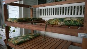 outdoor cat enclosure / catio cushions