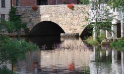 historic choate bridge in ipswich