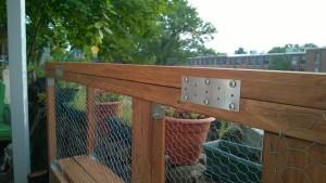 building the outdoor cat enclosure / catio connector