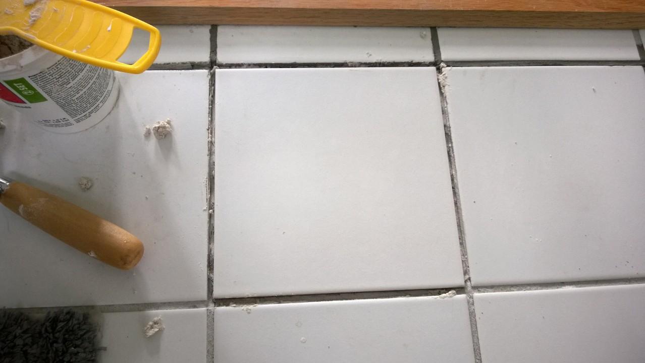 Replacing A Cracked Ceramic Tile – ORBITED BY NINE DARK MOONS