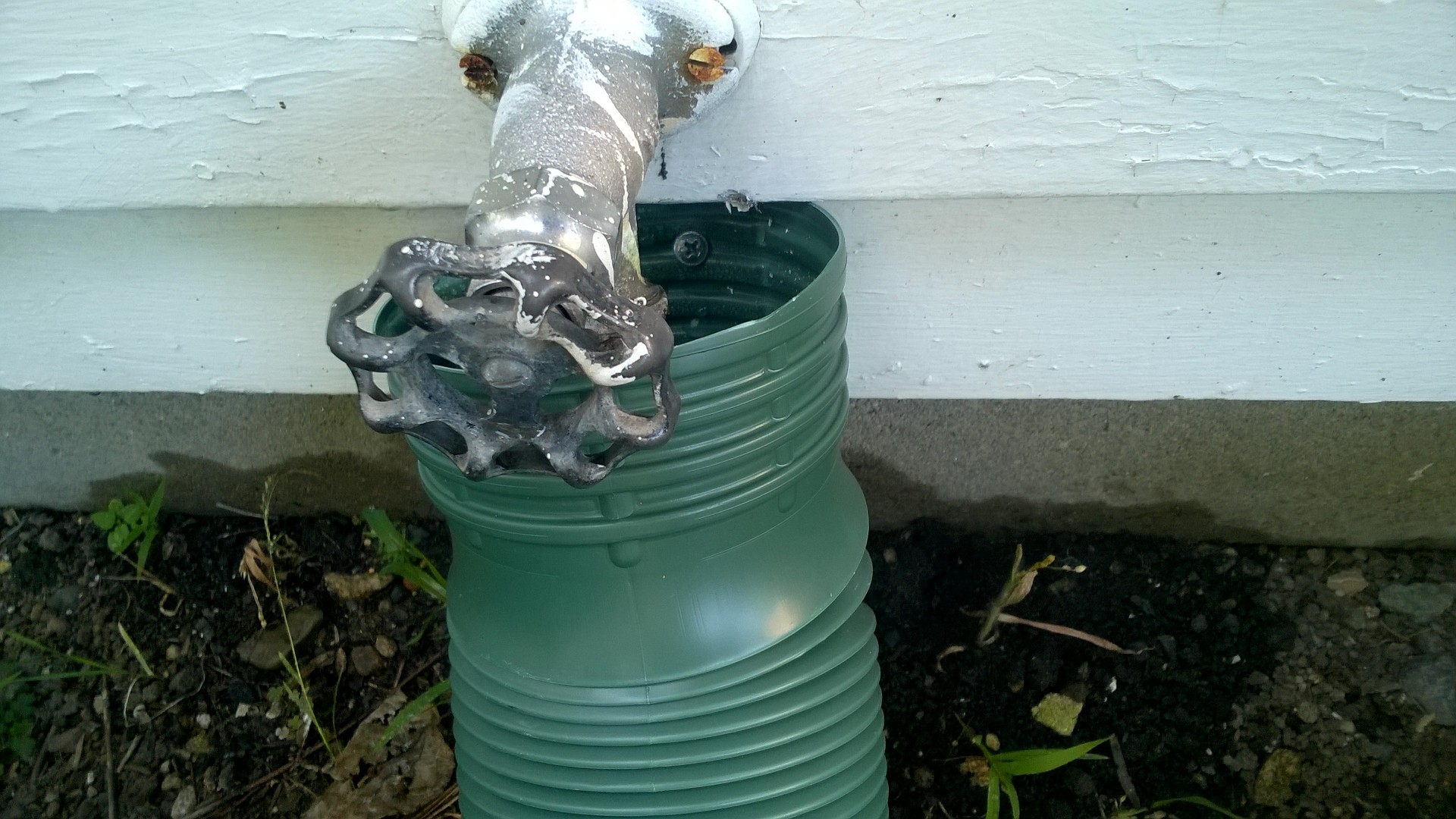 A Temporary Fix For Our Leaky Garden Hose Orbited By Nine Dark Moons