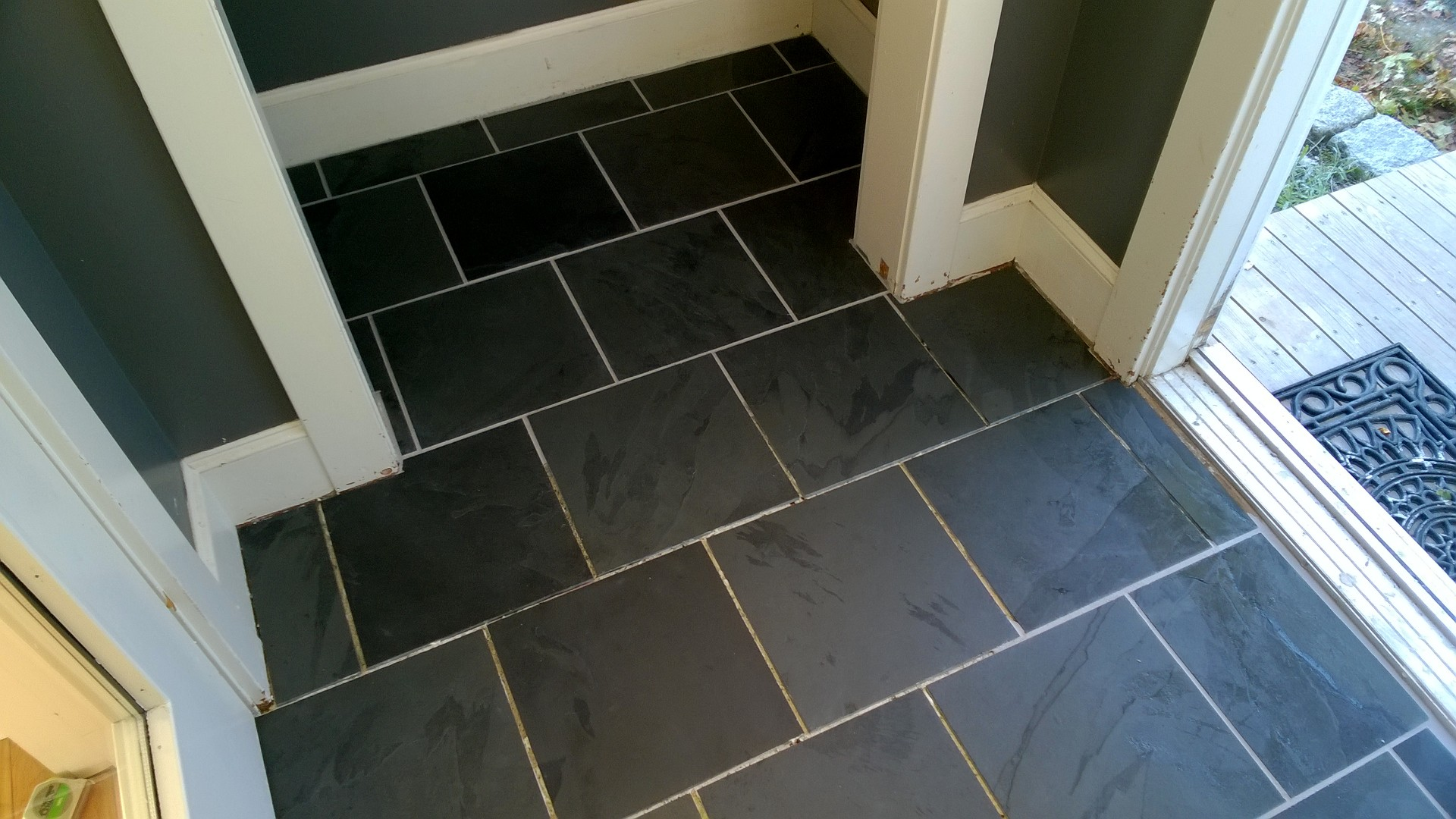 Easy way to remove floor tiles