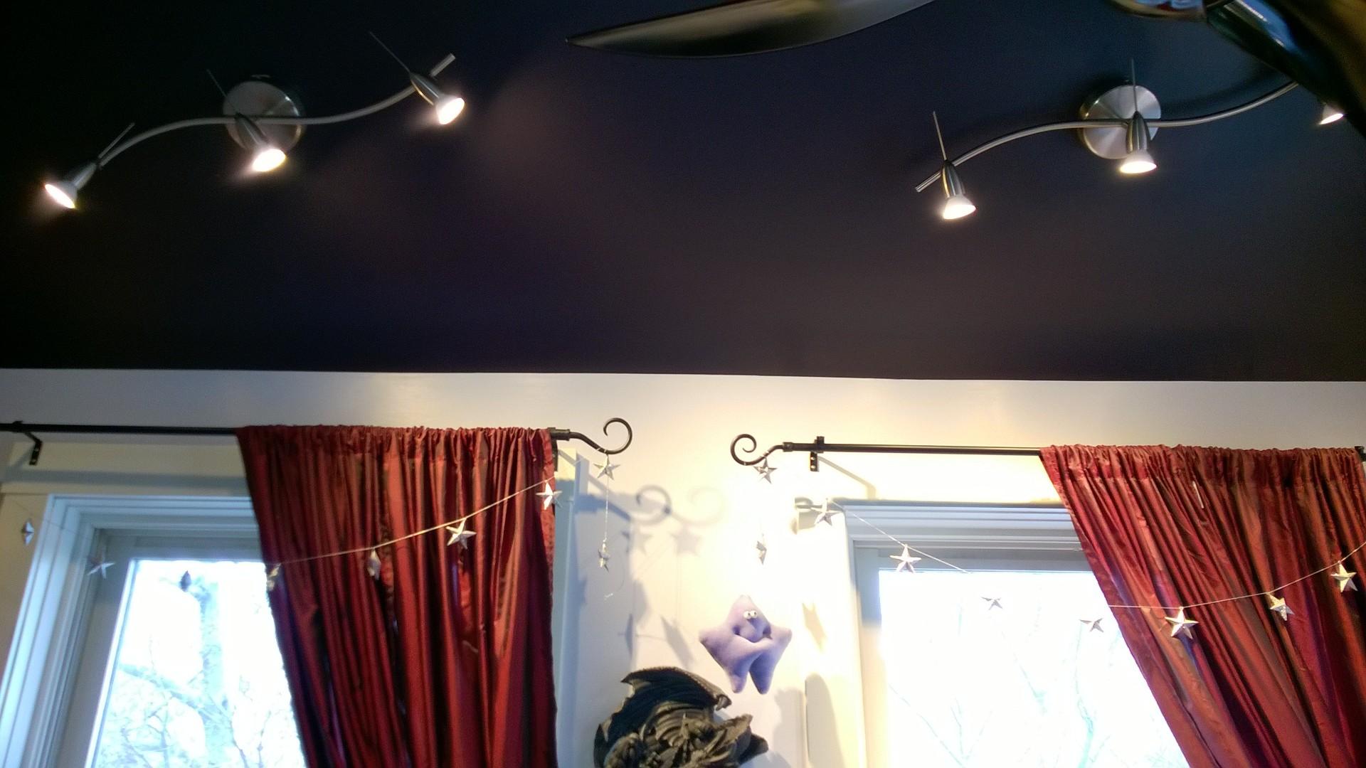 SÖdersvik Led Ceiling Lamp Ikea: Installing New IKEA Lighting In The Girl Cave