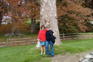 daniela & me at the crane estate, ipswich, ma