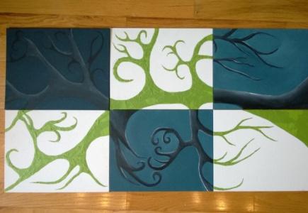 6 Panel Art Project – Part 3