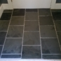 i replaced the tile in the front hall with slate