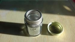 liquid silver leaf paint is super shiny