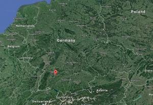 my german family lives in nürtingen, germany, southeast of stuttgart