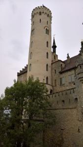 stairwell tower at castle lichtenstein