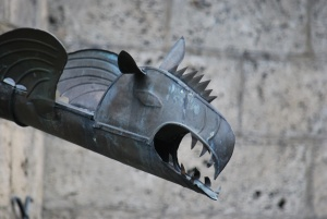 dragon rain spout at castle lichtenstein - i so want one!!!