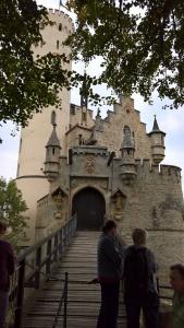 the doors to castle lichtenstein are locked between tours