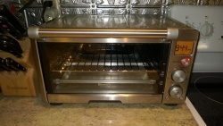 my fancy breville toaster oven looking as good as new