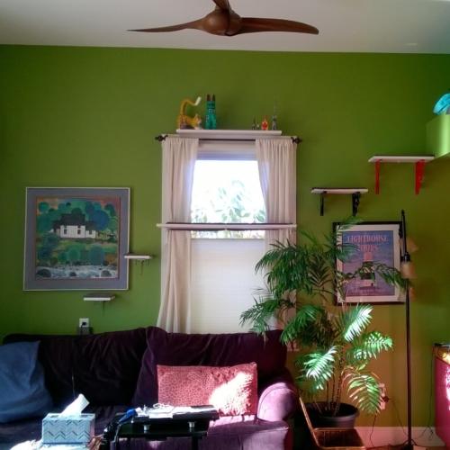 living room cat platforms