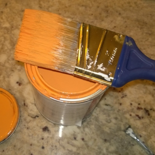 benjamin moore calypso orange paint
