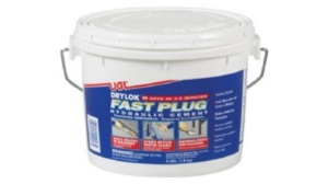 drylok hydraulic cement for patching leaks in masonry walls
