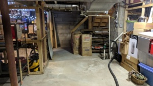 the basement is so nice after a thorough cleaning