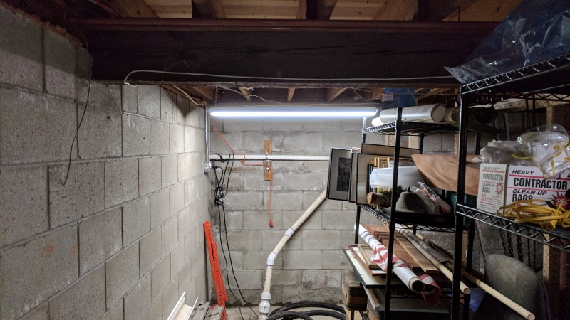 30 Minute Fix For A Dark Basement Corner