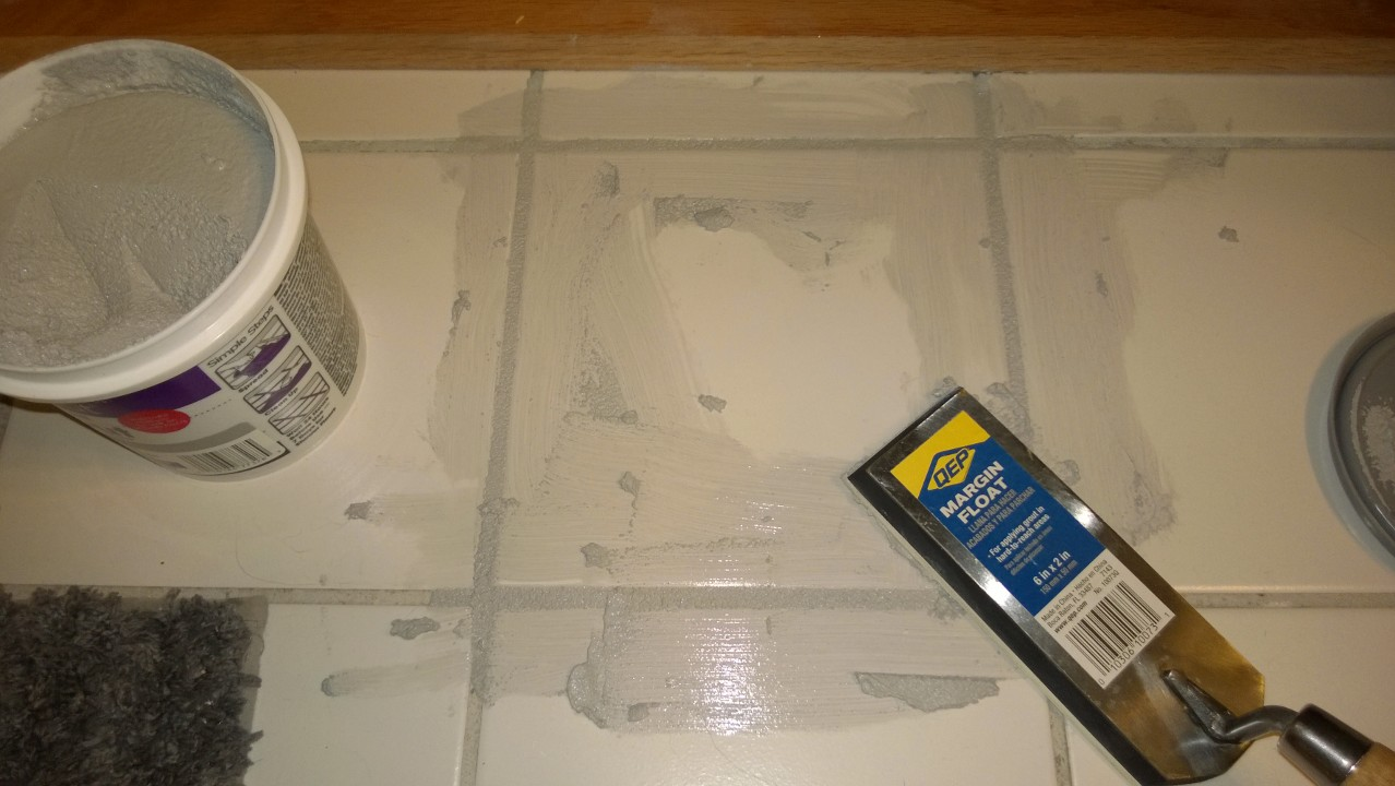 Replacing A Cracked Ceramic Tile