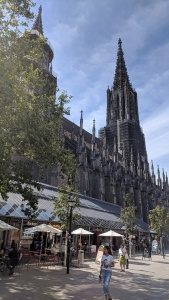 the münster - the pride of ulm, germany. construction started in 1377