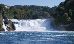 rheinfall aka rhine falls, switzerland