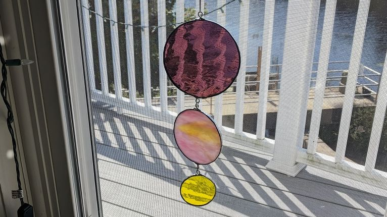 Stained Glass Mobiles – Part 1