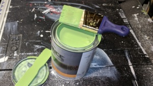 benjamin moore rosemary green high gloss