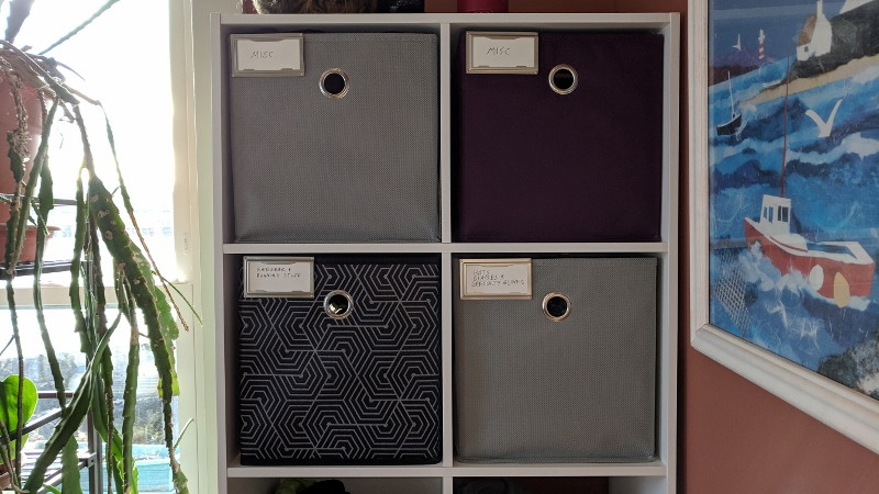 Furlough Project #5 – Cube Storage