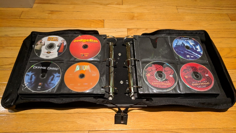 Furlough Project #6 – DVD Storage