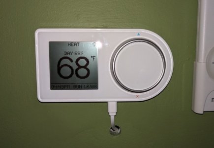 A Smart Thermostat for the Living Room
