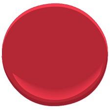 benjamin moore exotic red