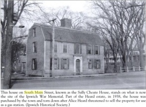 house across south main street from the philemon dean house early 1900s